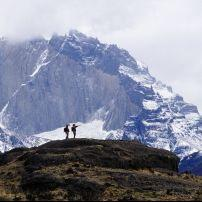 Paine Massif, Torres del Paines National Park, Patagonia Chile, South America
