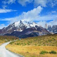 Road, Torres del Paine National Park, Patagonia, Chile