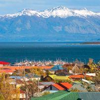 Strait of Magellan, Puerto Natales, Patagonia, Chile