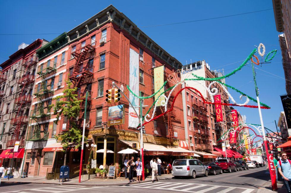 Little Italy, New York City, New York, USA.