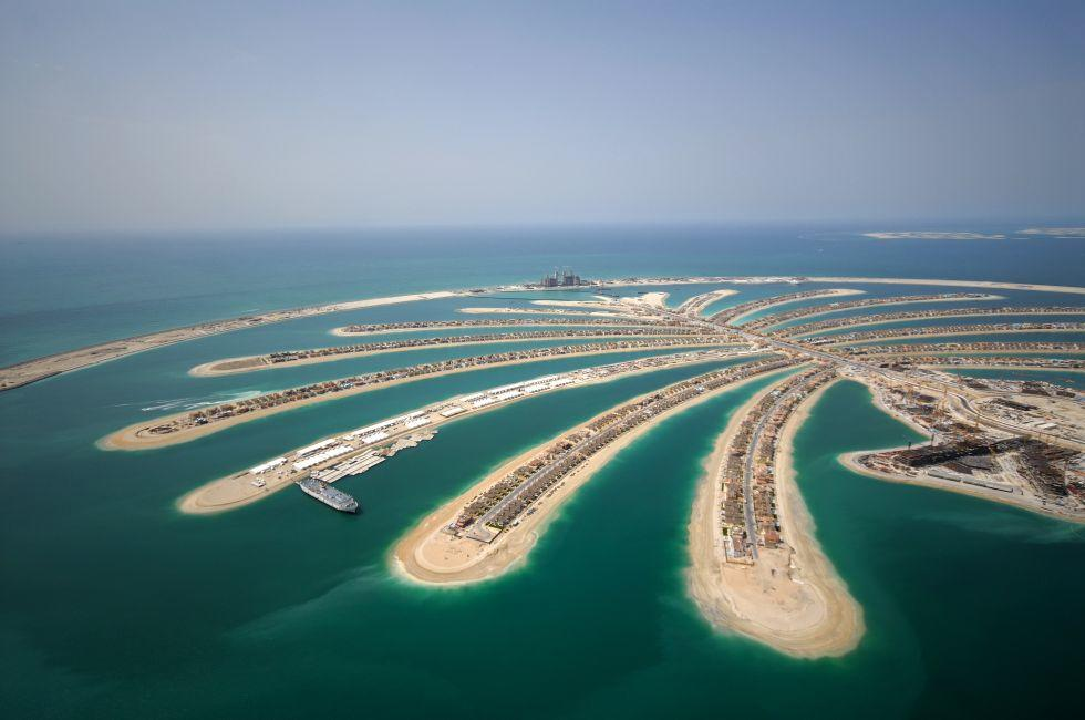 Jumeirah Palm Island, Dubai, United Arab Emirates