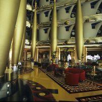 Burj Al Arab lobby, Dubai, UAE