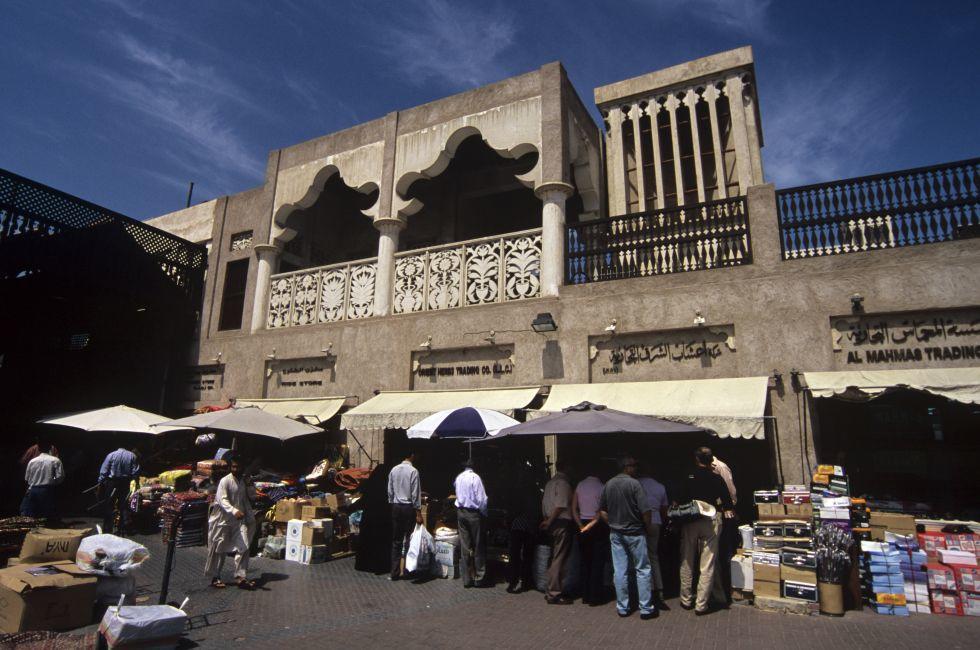 Spice Market exterior, Dubai, UAE