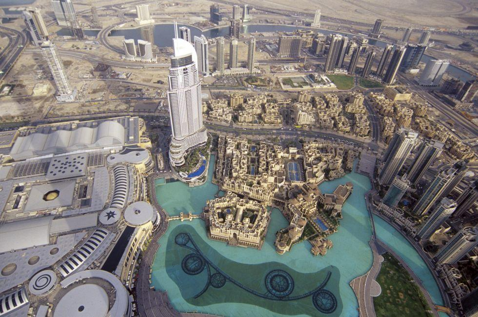 Views from the Burj Khalifa, Dubai, UAE