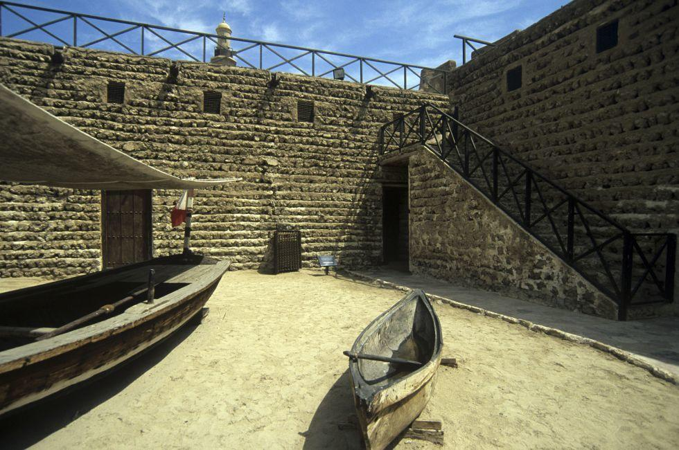 Interior Courtyard of the Dubai Museum, Dubai, UAE