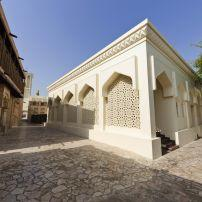 Mosque, Bastakia Quarter, Dubai, UAE