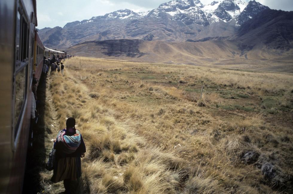 People, Train, Landscape, Mountains, The Southern Coast, Peru