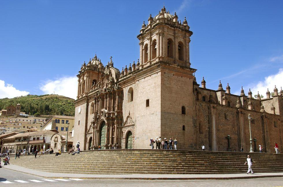 Plaza del Armas, Cusco Cathedral, Cusco and the Sacred Valley, Peru