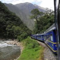 Train, Ollantaytyambo, Cusco and the Sacred Valley, Peru