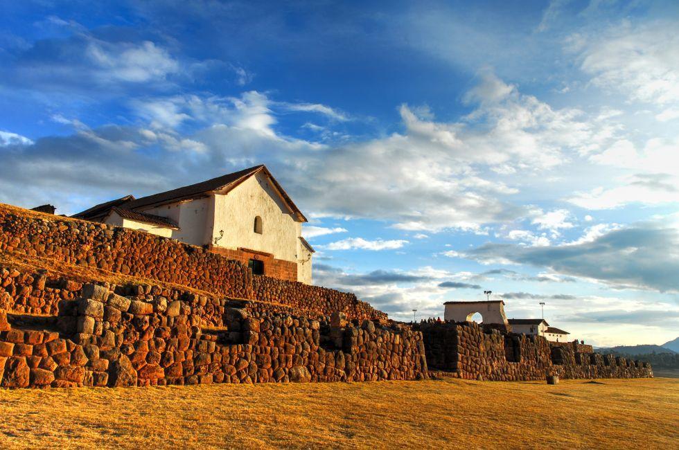 Ruins, Chinchero, Cuzco, Peru