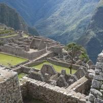 Overlook, Machu Picchu, Machu Picchu and The Inca Trail, Peru