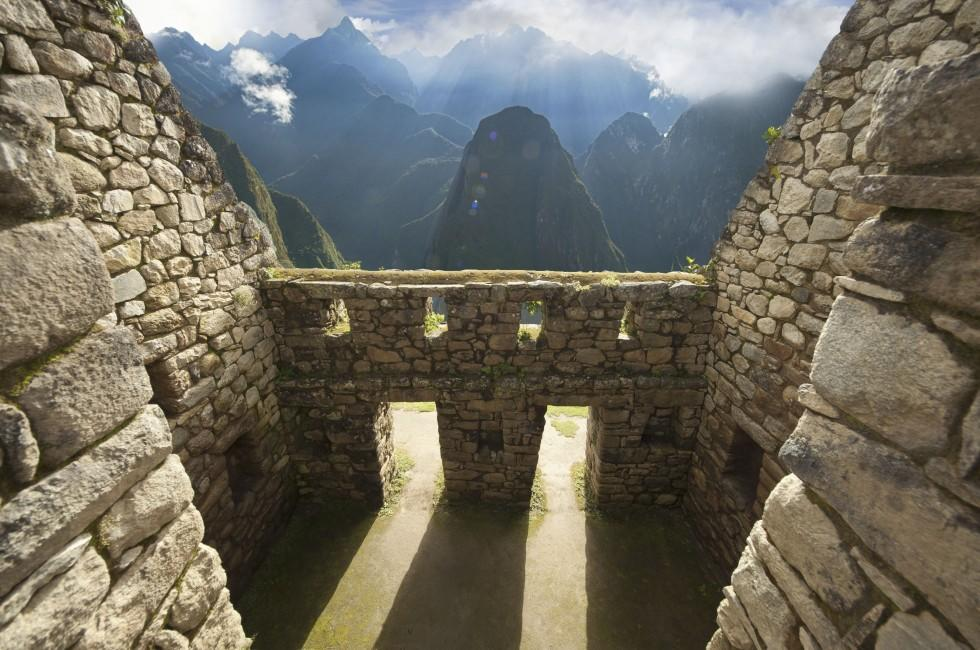Wall, Macchu Picchu, Machu Picchu and The Inca Trail, Peru