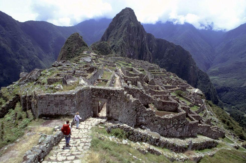 End of Inca Trail Machu Picchu