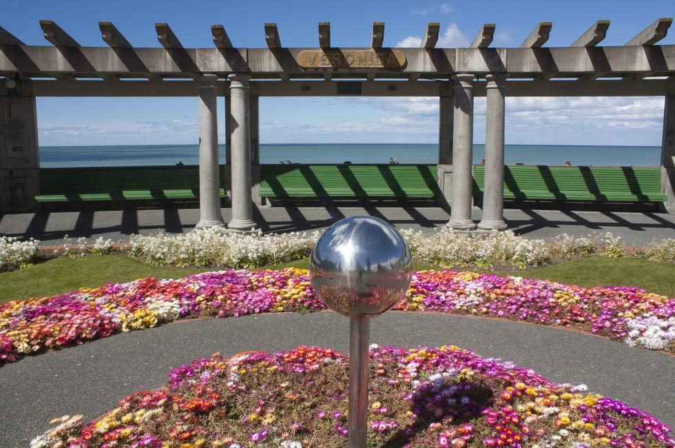Garden, Waterfront, Napier, East Coast and the Volcanic Zone, New Zealand, Australia and the Pacific
