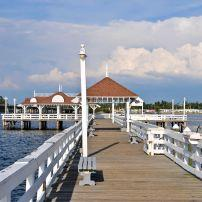 Bradenton Beach Historica Pier, Anna Maria Island, The Tampa Bay Area, Florida, USA