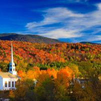 Church, Stowe, Vermont