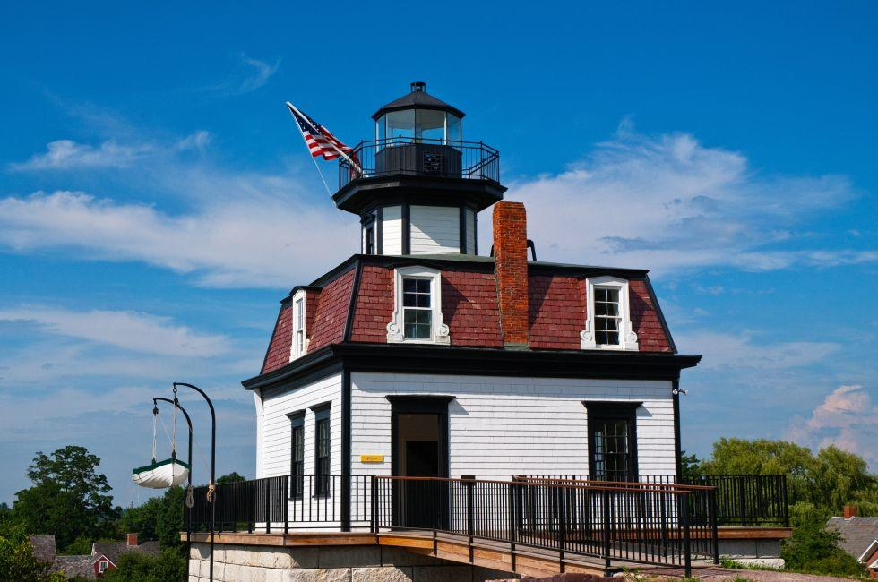 Colchester Reef lighthouse, Shelburne, Vermont