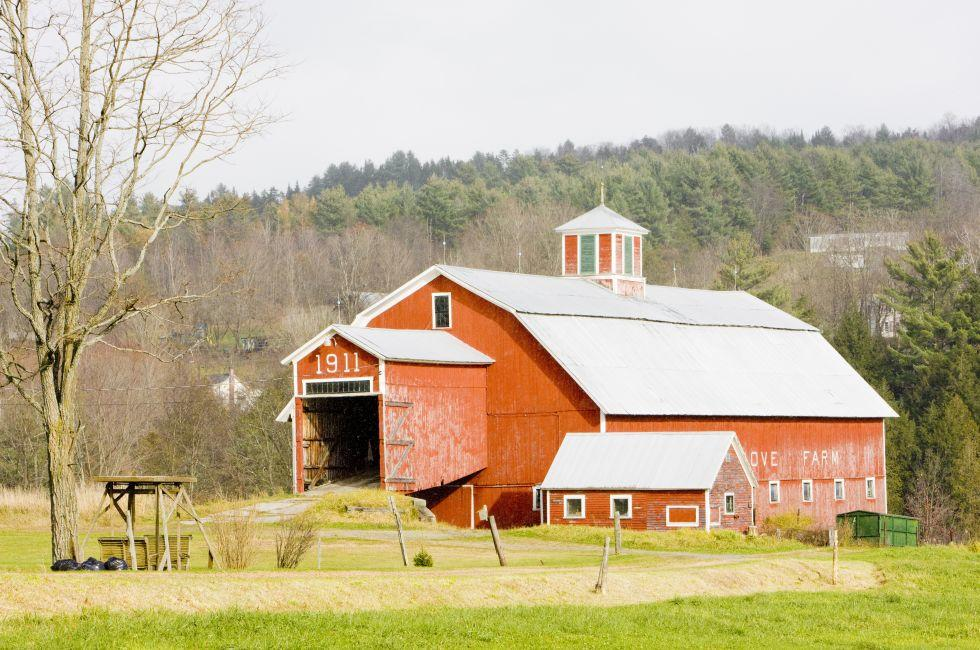 Barn, Farm, St. Johnsbury, Vermont