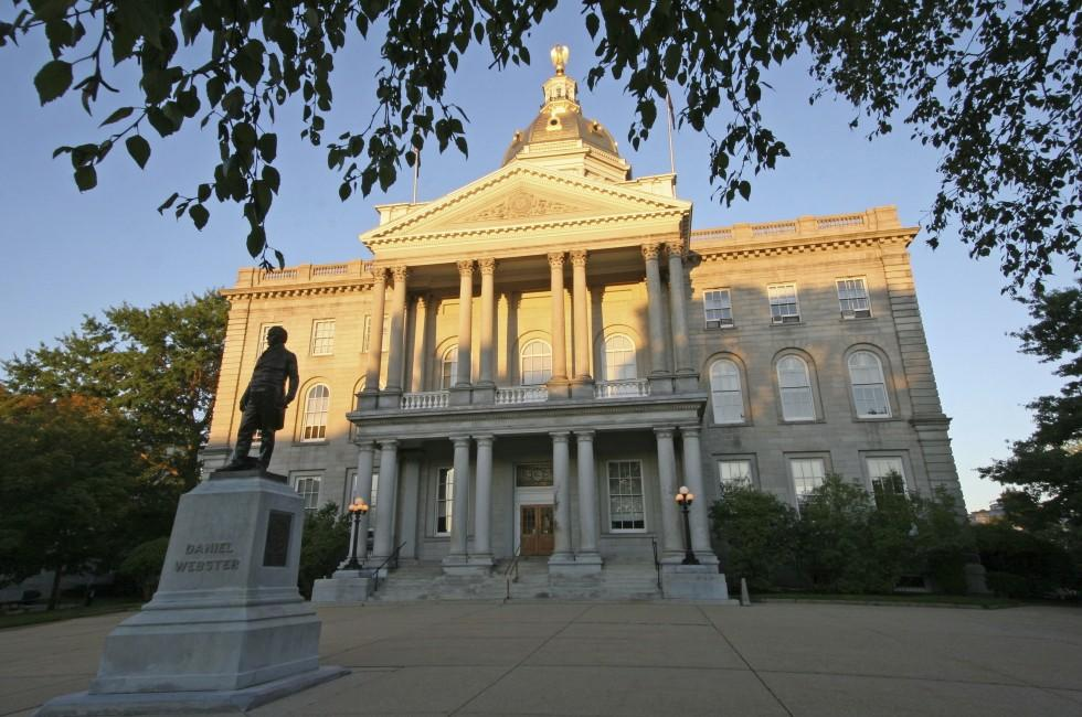 New Hampshire State House, Concord, New Hampshire, USA