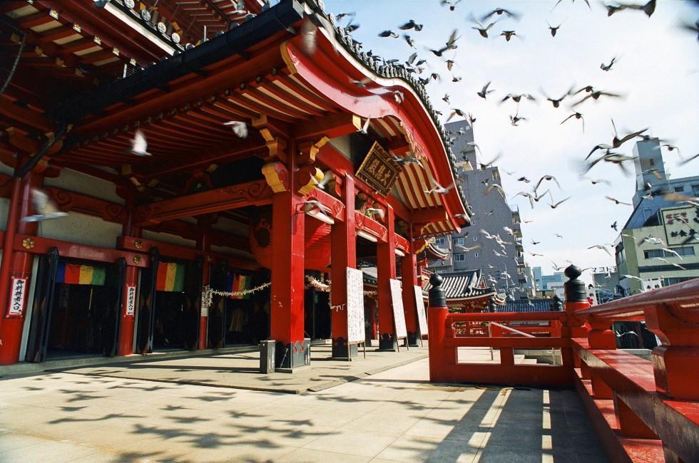 Osu Kannon , Nagoya , Japan