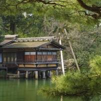 Uchihashi-tei Tea House, Kenrokuen, Kanazawa, Japan