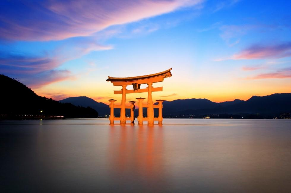 Torii Gate, Itsukushima Shrine, Miyajima, Japan