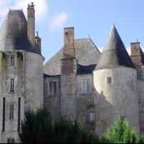 Exterior, Chateau de Menung Sur Loire, The Loire Valley, France