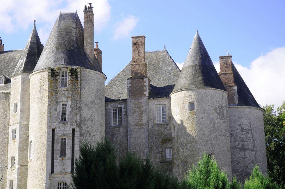 Exterior, Chateau de Menung Sur Loire, The Loire Valley, France