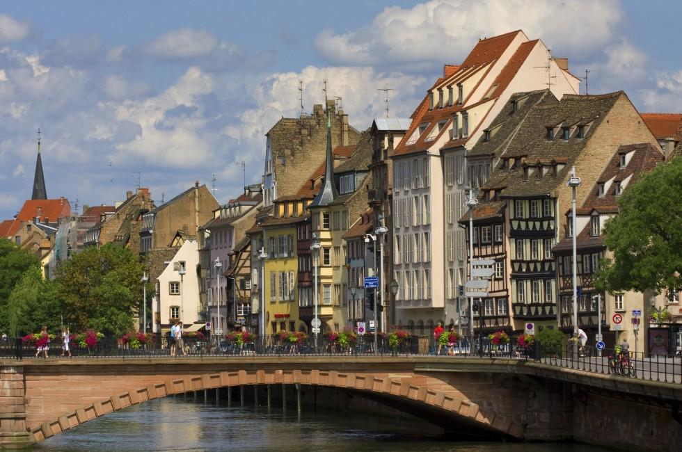 Bridge, Strasbourg, Alsace Lorraine, France