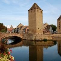 Bridges, Strasbourg, La Petite, Alsace Lorraine, France