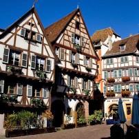 Houses, Colmar, Alsace Lorraine, France