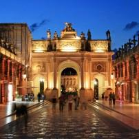Night, Stanislas Square, Nancy, Alsace Lorraine, France