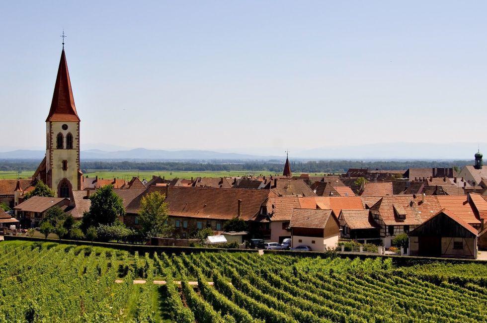 Wine Road, Ammerschwihr-Kayserberg, Alsace Lorraine, France