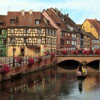 Boat, Canal, Little Venice, Colmar, France