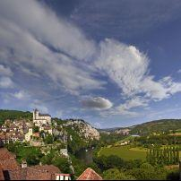 Saint-Cirq-Lapopie, Midi-Pyrenees, France