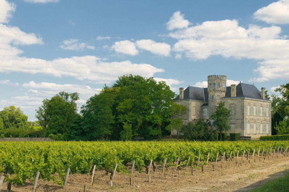 Chateau, Vineyard, Margaux, Bordeaux, France