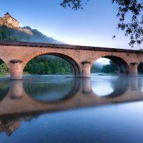 Bridge, Castelnaud, The Dordogne, France