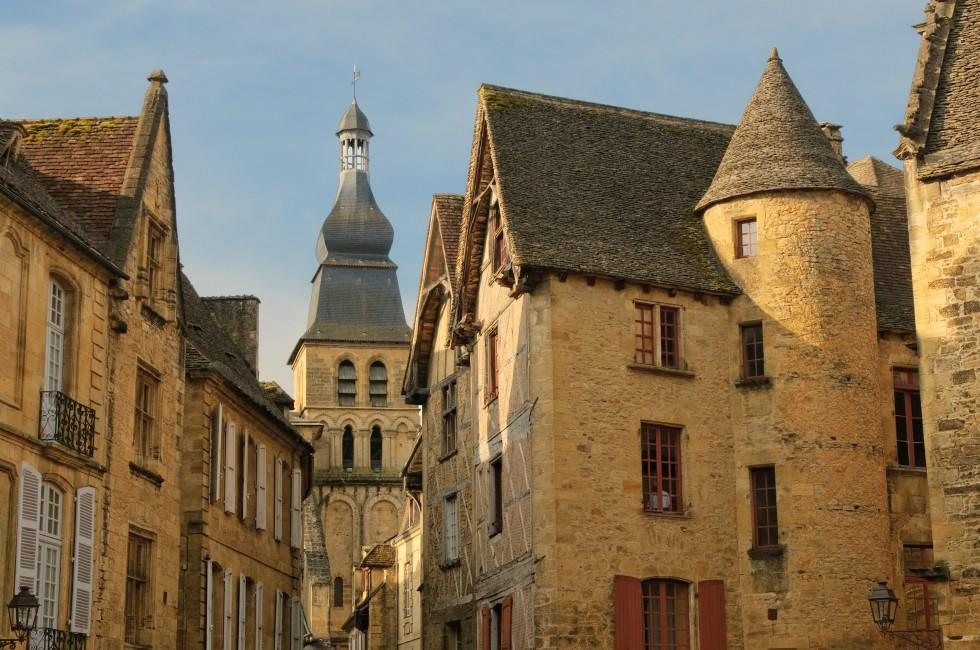 Church, Sarlat, The Dordogne, France