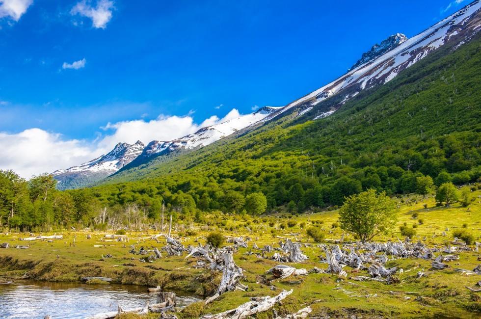 Landscape, Tierra del Fuego National Park, Tierra del Fuego, Argentina