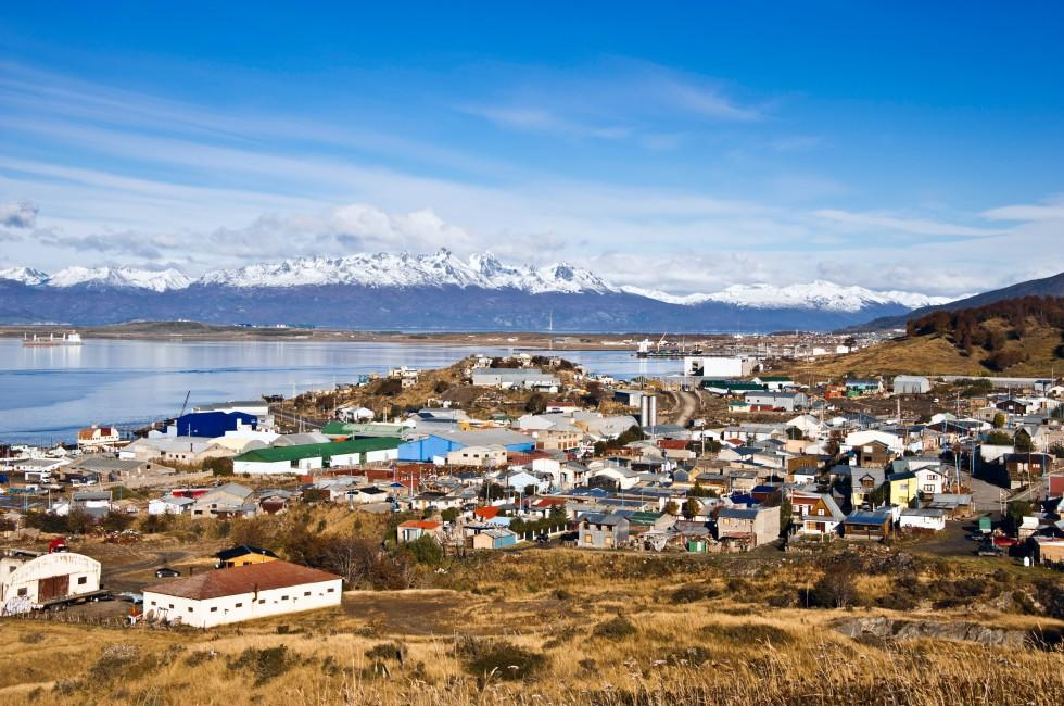 Cityscape, Martial Mountains, Ushuaia, Argentina