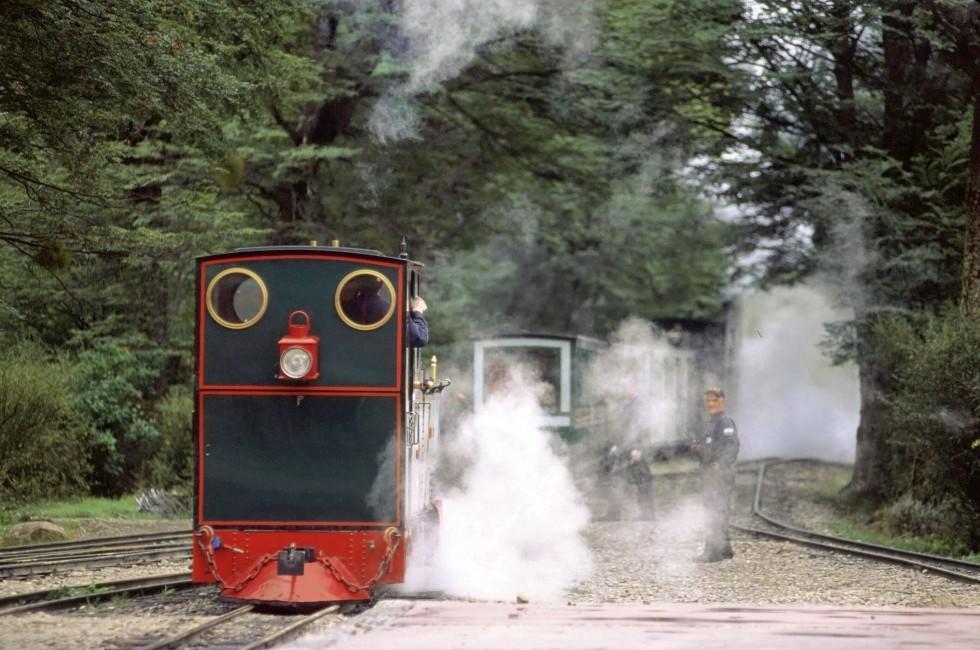 Train, The Patagonian Express, Tierra del Fuego, Argentina