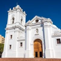 Cathedral of Santa Marta, Santa Marta, The Caribbean Coast, Colombia,
