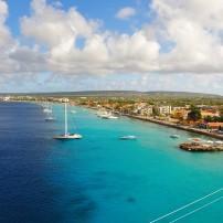 Boats, Waterfront, Kralendijk, Bonaire, Caribbean