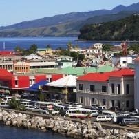 Harbor, Waterfront, Roseau, Dominica, Caribbean