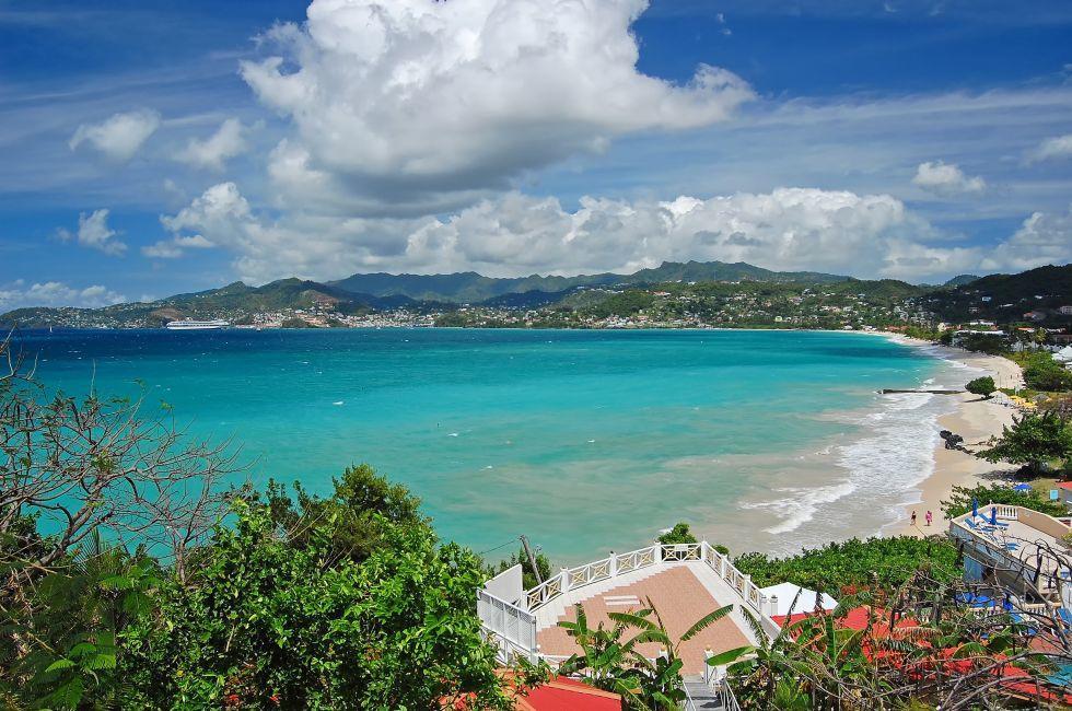 Grand Anse Beach, Grenada, Caribbean