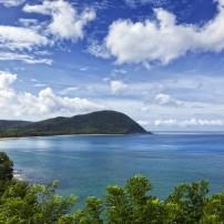 Coastline, Deshaies, Basse-Terre, Guadeloupe
