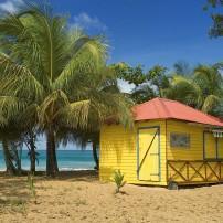 Restaurant, Hut, Beach, Guadeloupe, Caribbean