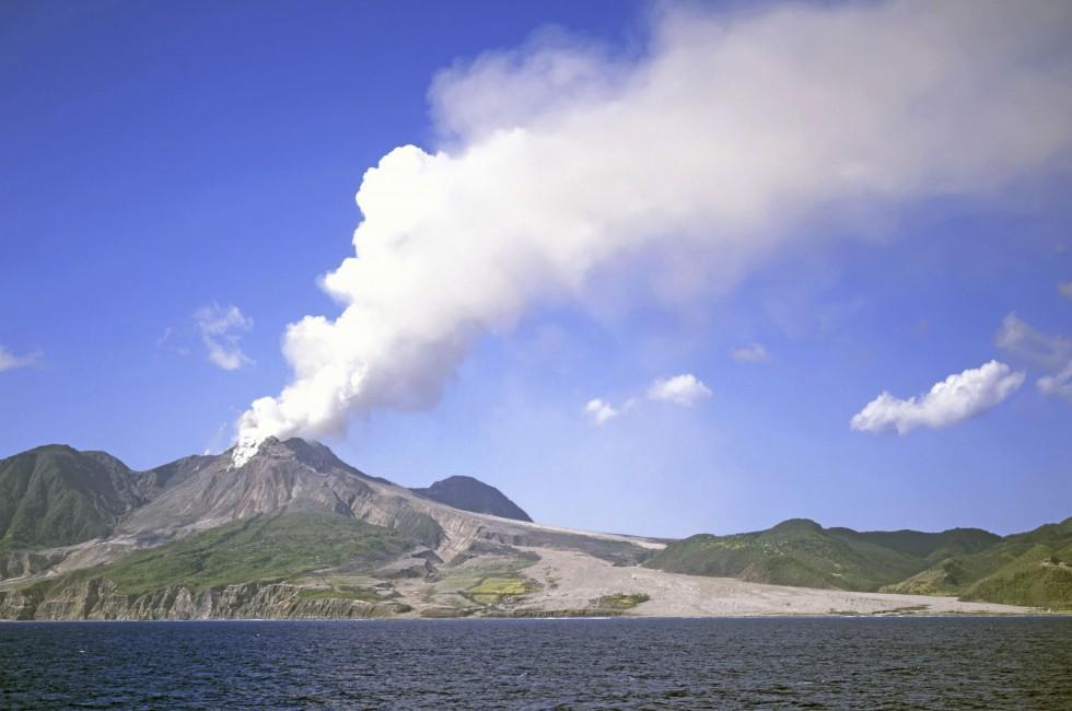 Volcano, Soufriere Hills, Montserrat, Caribbean