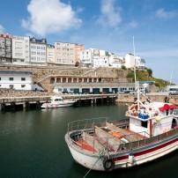 Boats, Malpica, Galicia and Asturias, Spain