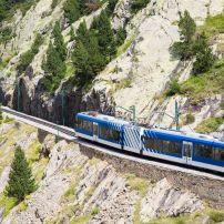 Cogwheel Railway, Valley of Nuria, Catalan, Spain
